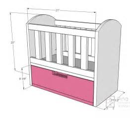 dimensions of a baby crib white olivia s doll crib diy projects