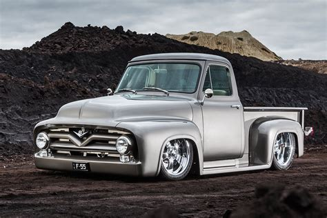 1955 Ford Truck by 800hp Big Block 1955 Ford F100 Machine