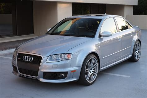 2007 Audi Rs4 by 55k Mile 2007 Audi Rs4 Bring A Trailer