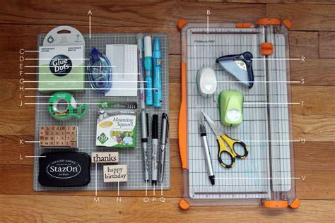 card supplies basic card supplies and tools