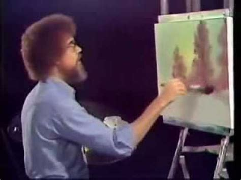 brazil paint tv show bob ross painting happy trees ohhhh here they come