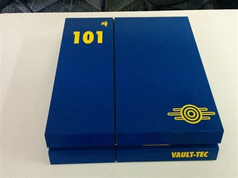 spray painter ps4 custom fallout playstation 4 painted inside out is jaw