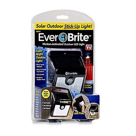 outdoor motion activated light buy everbrite motion activated outdoor led light from bed