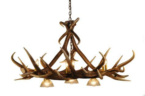 elk chandelier elk 6 antler chandelier with 3 downlights cast horn designs