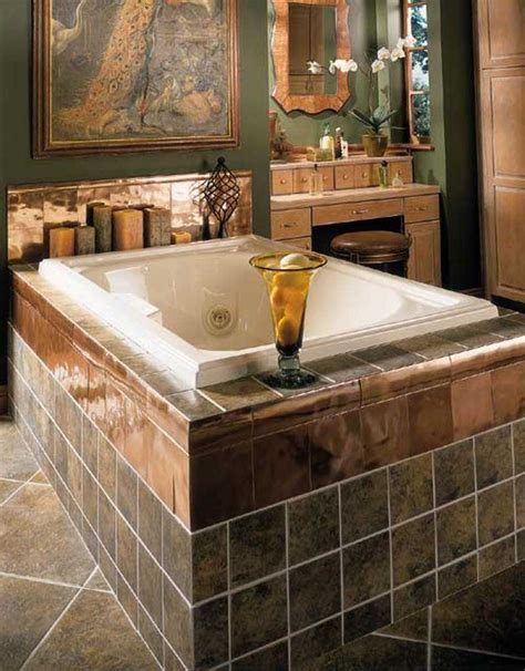 bathroom tile idea 30 beautiful pictures and ideas high end bathroom tile designs