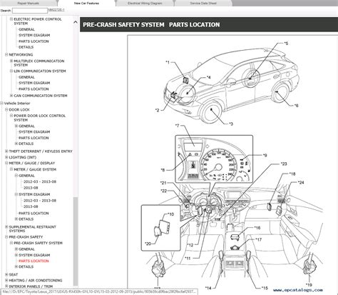 small engine repair manuals free download 2010 lexus is f regenerative braking lexus rx450h gyl10 gyl15 repair manual 2012 015 download