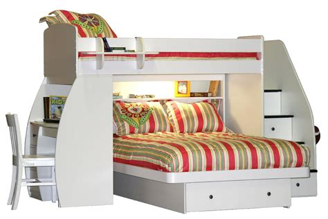 bunk bed with stairs and desk fantastic bunk beds with stairs and desk designs decofurnish