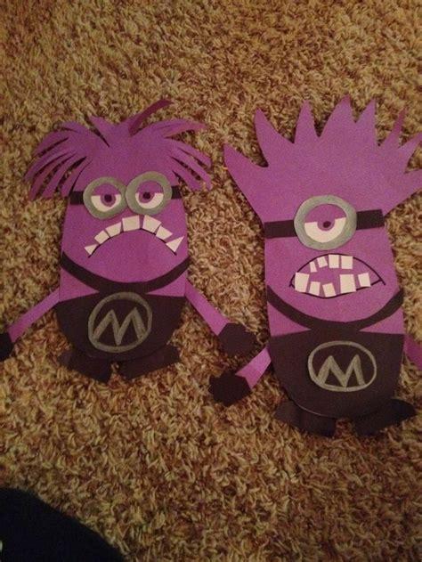 Purple Minion Craft Construction Paper Things I