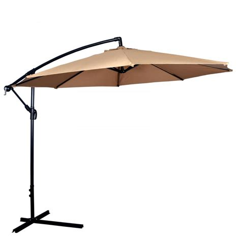 new patio umbrella offset 10 hanging umbrella outdoor