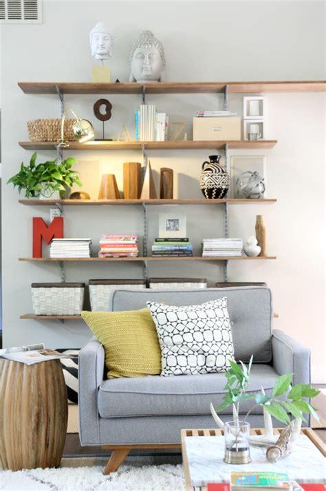 wall shelves for room a light for the living room shelves house tweaking