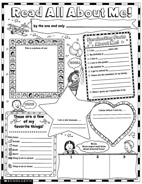 instant personal poster sets read all about me 30 big write and read learning posters ready for to personalize and display with pride 25 best ideas about all about me on all about