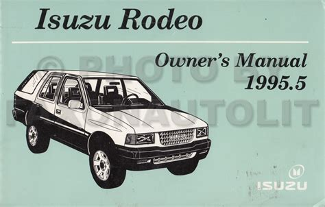 car owners manuals free downloads 1995 isuzu rodeo regenerative braking service manual free repair manual for a 1995 isuzu rodeo 1995 5 isuzu rodeo repair shop