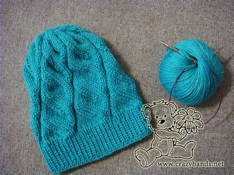 beginner knit hat pattern circular needles 1 2 3 4 knitting azure hat with circular needles a