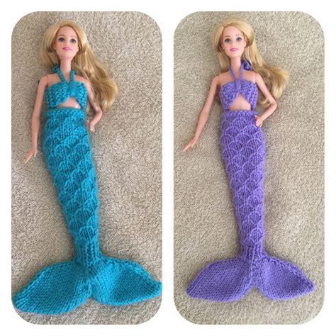knit mermaid doll doll mermaid knitting pattern sure to the