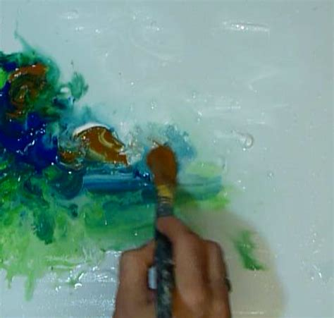 acrylic painting water techniques abstract modern painting techniques by dranitsin