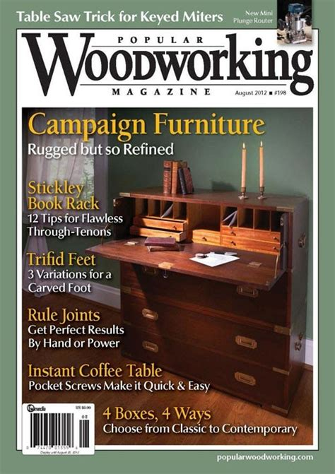 what is the best woodworking magazine d c metal designs