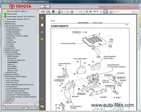 online service manuals 2005 toyota celica electronic valve timing toyota yaris verso echo verso repair manuals download