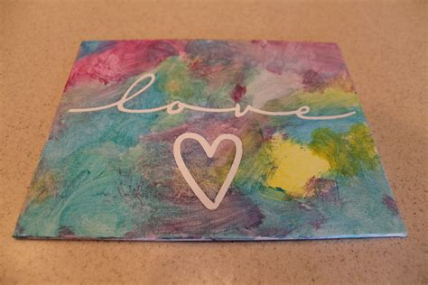 canvas crafts for desperate craftwives child painted canvas