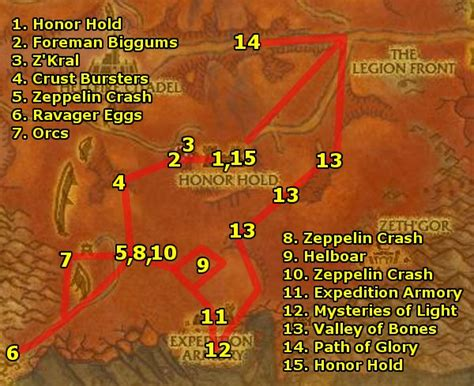 wow digging for prayer hellfire peninsula leveling guide level 58 61 alliance