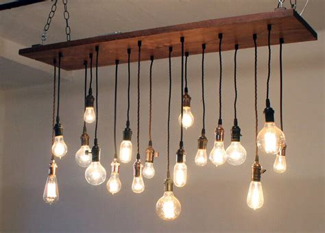 light bulb chandeliers 35 industrial lighting ideas for your home