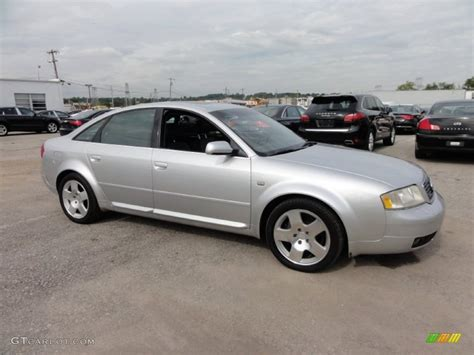 2001 Audi A6 by Light Silver Metallic 2001 Audi A6 4 2 Quattro Sedan