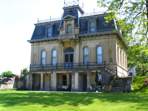 styles of houses architectural styles of southern indiana second empire