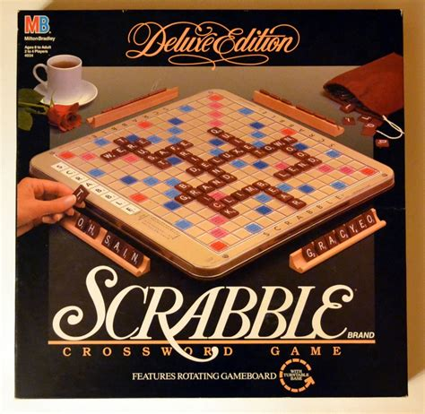 scrabble lazy susan turntable scrabble deluxe edition with storage turntable style board