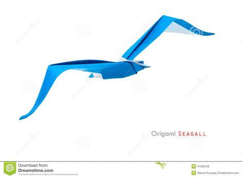 origami seagull origami seagull stock photo image 41539756