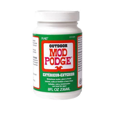 is decoupage and mod podge the same mod podge 8 oz outdoor decoupage glue cs11220 the home