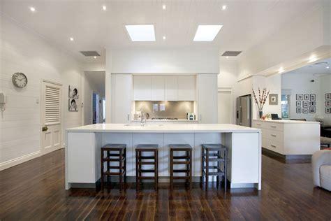 modern kitchen island bench graceville modern kitchen by makings of kitchens