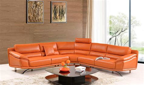 orange leather sectional sofa orange leather sectional sofa orange sectional sofa set