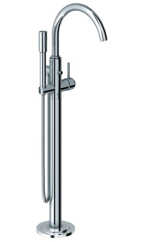 grohe bath shower mixer taps grohe spa atrio floor mounted bath shower mixer tap