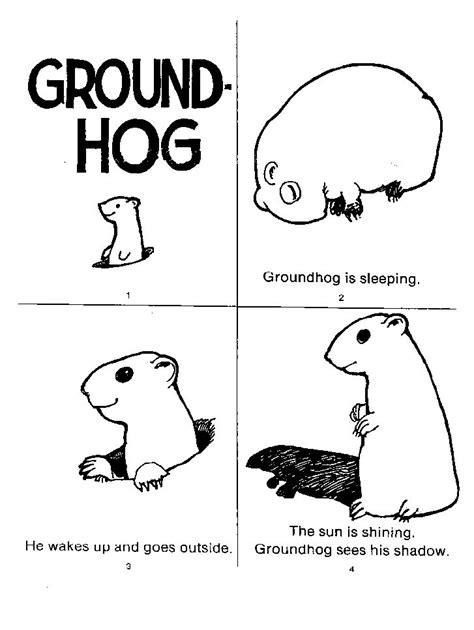 groundhog day kindergarten worksheets 1000 images about preschool groundhog day on
