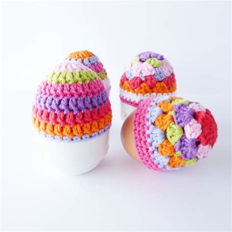 easter egg knitted covers 16 adorable handmade easter egg cozies style motivation