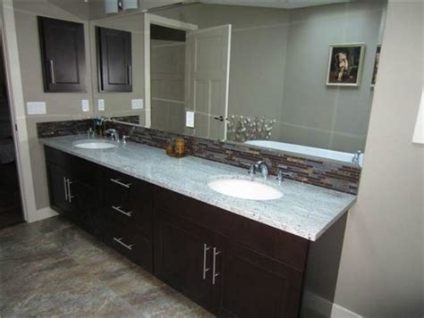 How To Put Up Tile Backsplash In Kitchen tile to go with kashmir white granite and dark cabinets