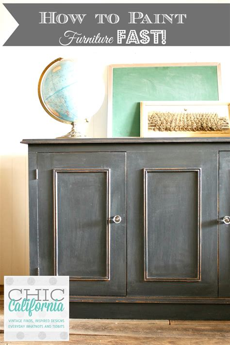 chalk paint how to how to paint furniture fast using chalk paint