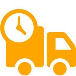 Free Orange Delivery Icon Orange Delivery Icon