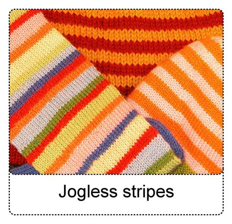 knitting changing colors in the techknitting jogless stripes a new way