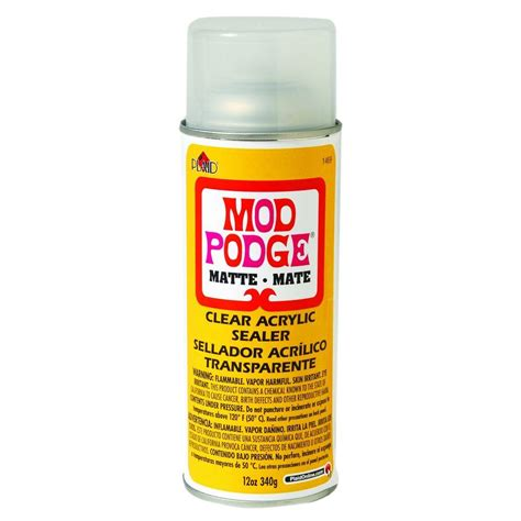 decoupage spray mod podge 8 oz coat decoupage glue cs11245 the