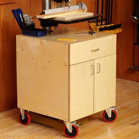 drill press storage cabinet drill press cabinet woodworking plan from wood magazine