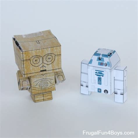 paper craft wars wars paper crafts to make frugal for boys and