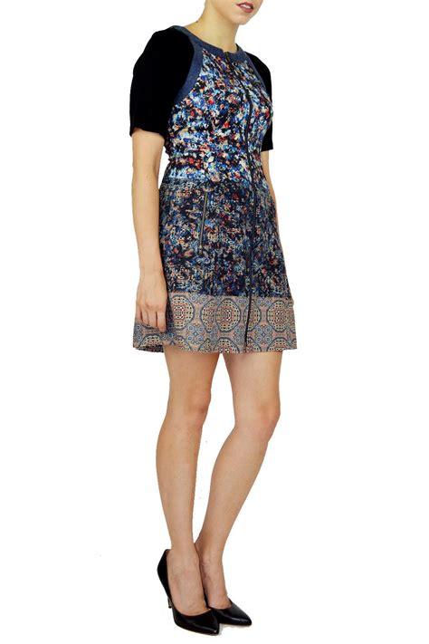 a dress mixed media dress shoptiques