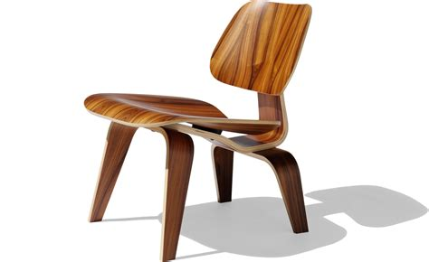 Eames Molded Plywood Chairs by Eames 174 Molded Plywood Lounge Chair Lcw Hivemodern