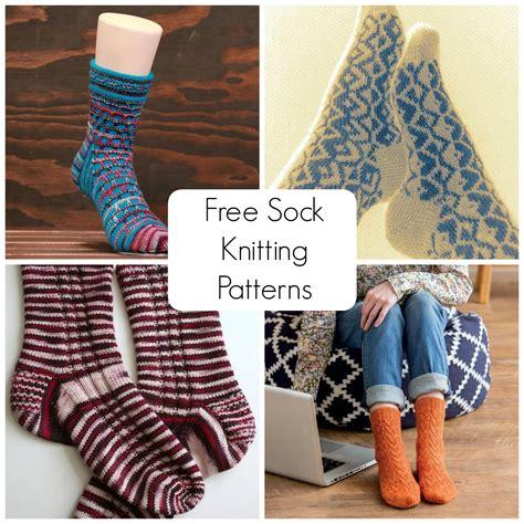 free knit sock patterns free sock knitting patterns to on craftsy