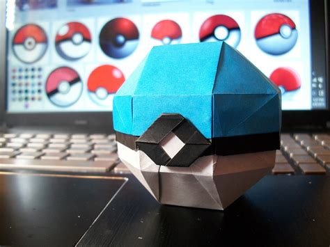 origami pokeball origami from the best generation part 1