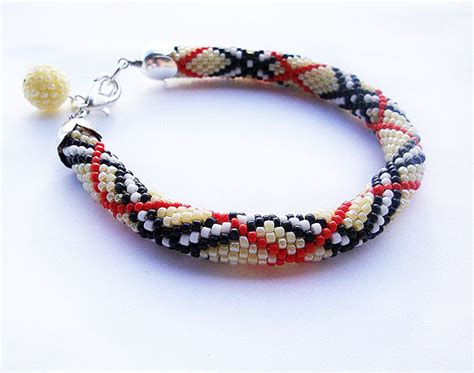 crochet beaded bracelet pattern beaded bracelet crochet pattern crochet patterns