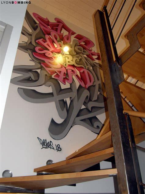 descente d escalier graffiti int 233 rieur lyonbombing