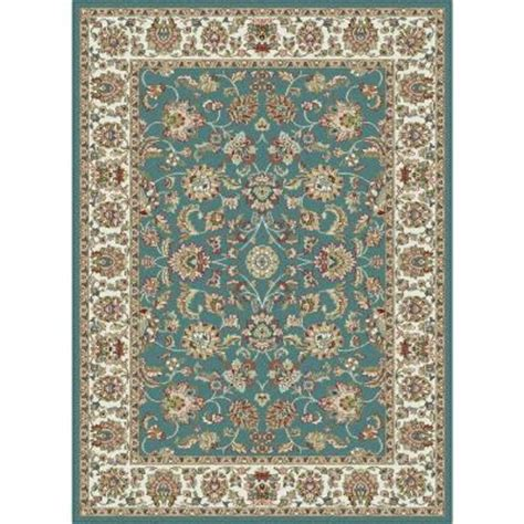 tayse rugs blue 5 ft 3 in x 7 ft 3 in