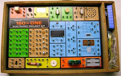 project kit retro thursday the 160 in one electronic project kit sa