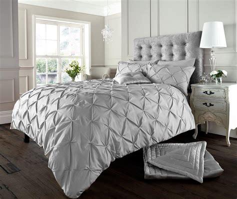silver bedding set alford button duvet set silver